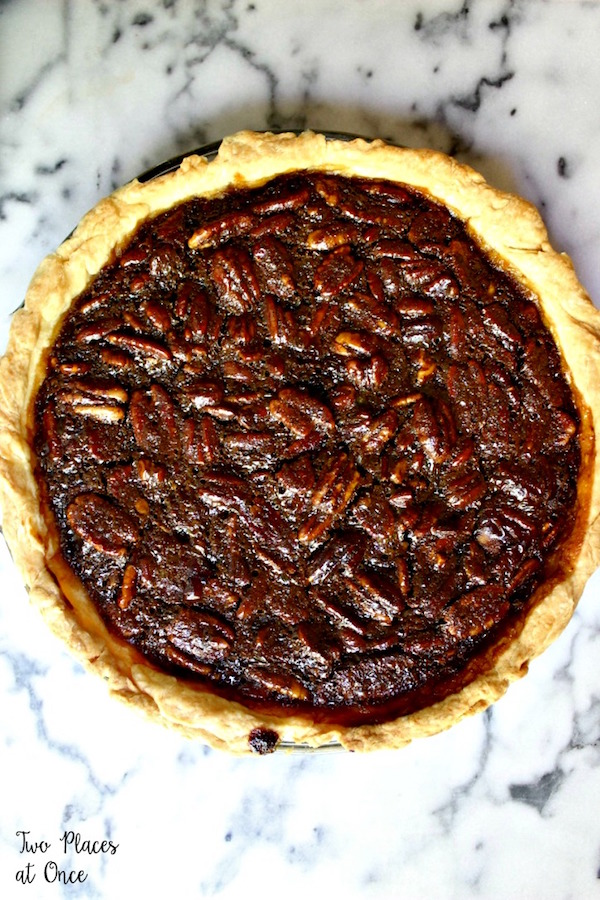 Bourbon pecan pie may sound like it's a dessert for Thanksgiving ...